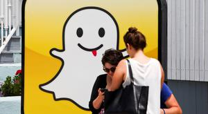 Snapchat has more than 150 million daily active users. Photo: Bloomberg