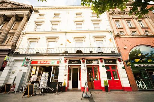 Lynam's Hotel on O'Connell Street has been sold for nearly €6m. The figure represents a significant premium on its €4m guide price