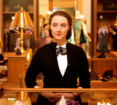 Saoirse Ronan in a scene from Brooklyn, produced by Alan Moloney — who plans to turn a site in Dublin's Docklands into film studios