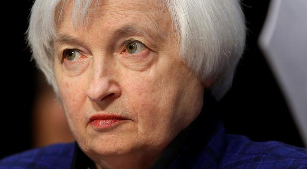 US Federal Reserve chairwoman Janet Yellen. Pic: Reuters