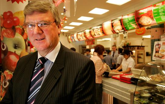 Pat McDonagh of Supermac's