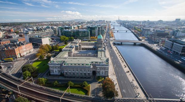 Dublin's docklands have been to the fore in the resurgence of Ireland's construction industry