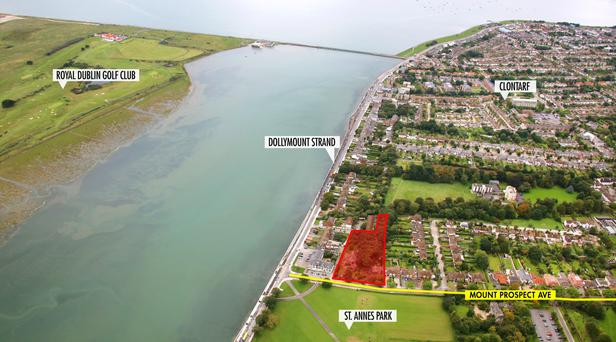 The prime site in Clontarf