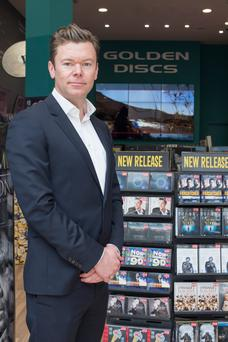Golden Discs chief executive, Stephen Fitzgerald: 'It has never been more fragmented in terms of the amount of ways to consume music and movies'