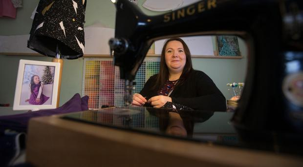 Maria Ryan founder of Lollipops & Daydreams children's clothing label. Picture: Mark Condren