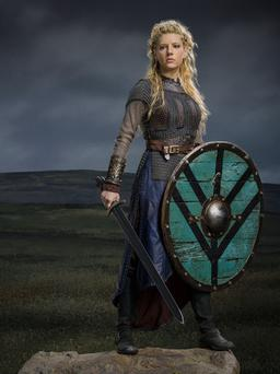 Actress Katheryn Winnick as Lagertha in 'Vikings'