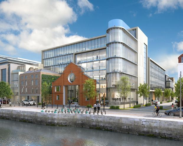 1 Sir John Rogerson's Quay, which is currently being developed by Hibernia REIT