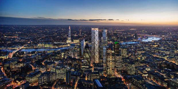 1 Undershaft is set to be the tallest tower in the City of London