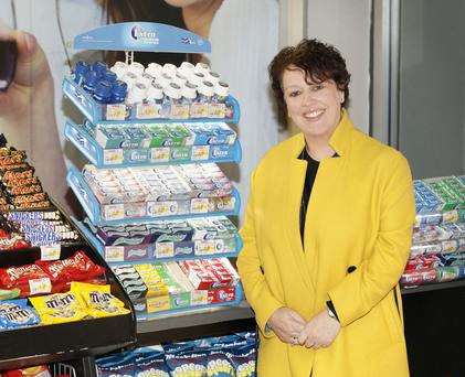 Chief marketing officer at Wrigley, Orla Mitchell, aims to return to Ireland when she retires from her career with the food giant