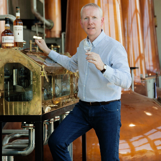 Bernard Walsh, chairman of the Irish Whiskey Association