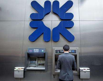 RBS was rescued by a £45bn (€38bn) taxpayer-funded bailout at the height of the credit crisis. Photo: Bloomberg