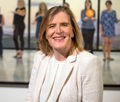 Eithne Harley of Accenture which has put gender diversity at the heart of its strategy