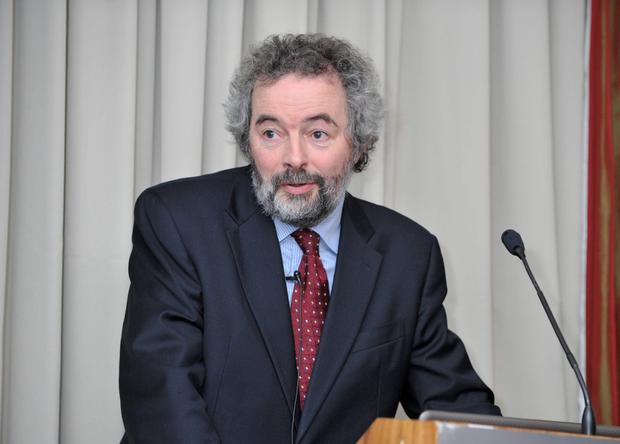 Austin Hughes, Chief Economist for KBC Bank Ireland. Photo: Gerard McCarthy
