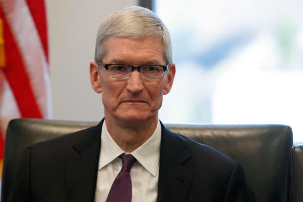 Apple ceo Tim Cook complained about the fairness of the case. Photo: AP