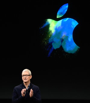 Apple chief executive Tim Cook told the Irish Independent the EC decision was 'political crap' and accused Brussels of overstepping its remit. Photo: Bloomberg