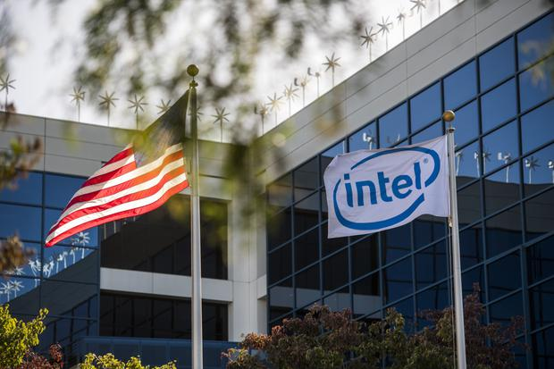 Irish firm Movidius was bought by Intel, left, in a deal worth more than €300m. Photo: Bloomberg