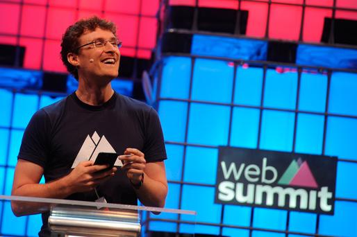 Paddy Cosgrave at the Lisbon Web Summit