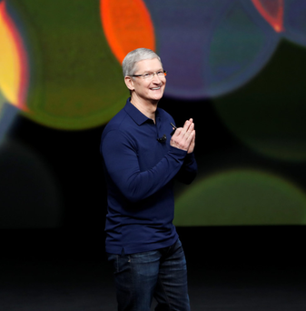 Apple, led by Tim Cook, was hit with a €13bn bill