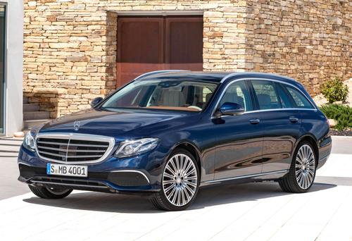 NICELY SCULPTED: The new E-Class Estate looks good from the outside and stays on the elegant side of 'pimp' on the inside too