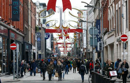 Fewer people took to the high street, resulting in a poor Christmas trading period for many shops (Bloomberg)