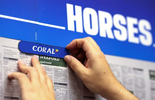 Northumbria Police said they were called to the Coral bookmakers in Grange Road, Jarrow, following a report of a man in possession of a firearm. (Stock photo)