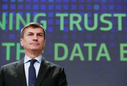 Andrus Ansip, European Commission vice-president for the digital single market