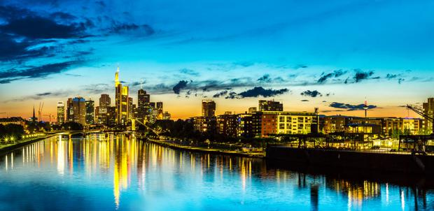 Frankfurt property prices have risen by 11.75pc year-on-year