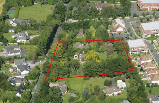 The two-acre site on the Glenamuck Road is guiding €4m