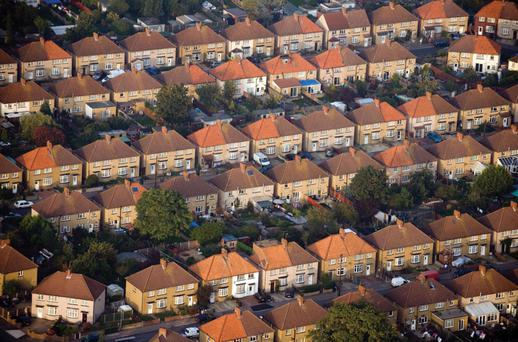 Nama debtors or receivers control 4,000 houses and apartments across the State, the vast bulk of which are rented (Stock picture)