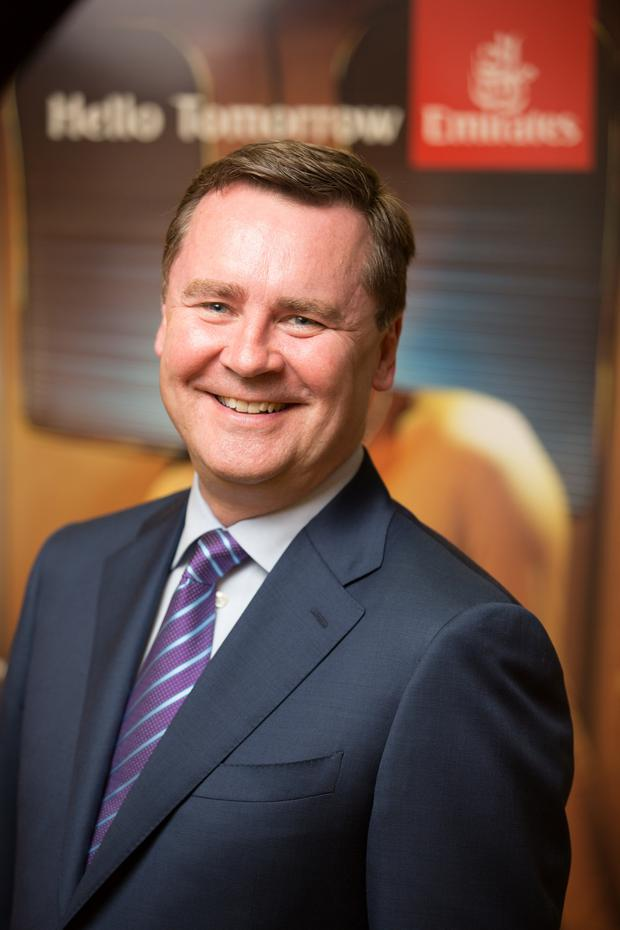 Country manager for Emirates Enda Corneille Picture: Naoise Culhane