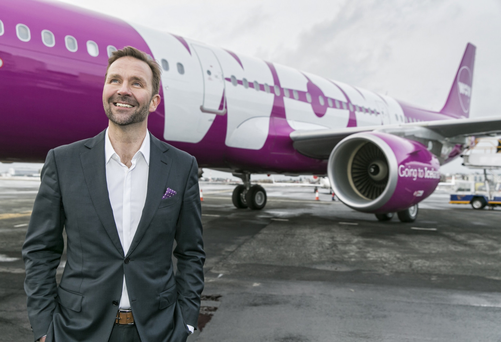 Wow Air chief executive Skuli Mogensen