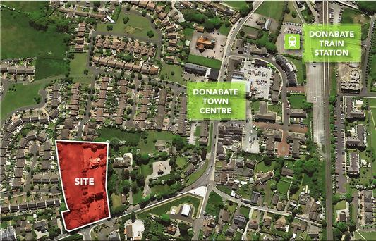 The Portrane Road site is in Donabate - a proven sales location