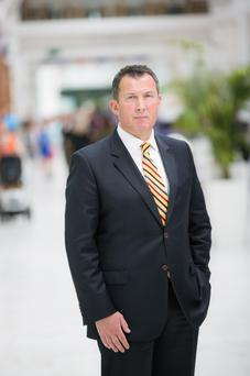Dennis O'Connell, manager of Liffey Valley Shopping Centre