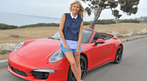 Maria Sharapova who is still being paid by sponsors despite her ban