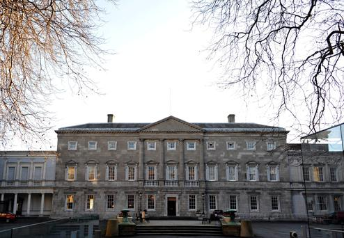 The ruling also found the protection afforded to TDs and senators under Article 15.13 of the Constitution applied not just to what was said in the Dáil and Seanad, but also in Oireachtas committees. Photo: Aidan Crawley/Bloomberg