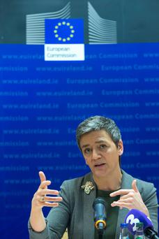 European's competition chief, Margrethe Vestager