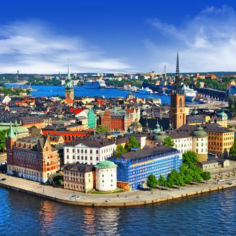 The Swedish property market is booming amid a housing shortage and rising prices