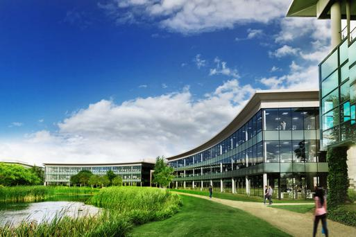 Joint agents Cushman & Wakefield and JLL are quoting €27.50 per sq ft for space at 3009 Lake Drive, Citywest Business Campus