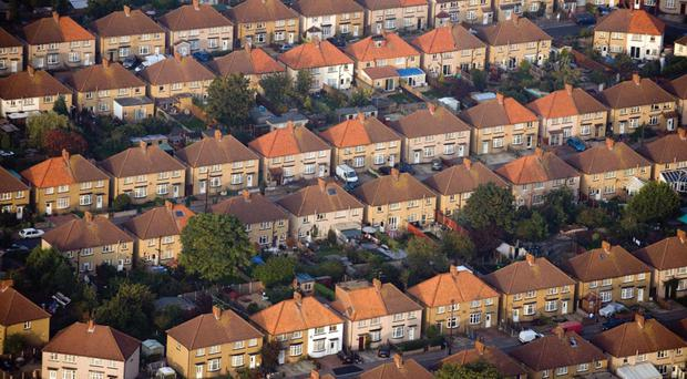 Property prices fell in December, but were still up for last year as a whole.