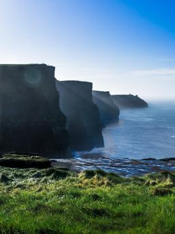 The cliffs of Moher are a big draw for American tourists
