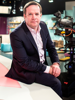 Pat Kiely, managing director of the TV3 Group. Photo: David Conachy