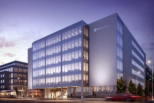 Dublin has been preparing its response to Brexit with the construction of new offices such as the Exchange