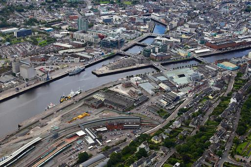 Clarendon Properties is likely to seek planning permission in the coming months for the development of the 6.1-acre Horgan's Quay