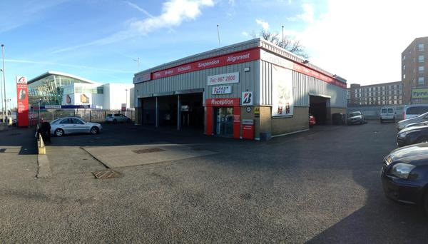 The property is let to First Stop Tyres on a 25-year FRI lease