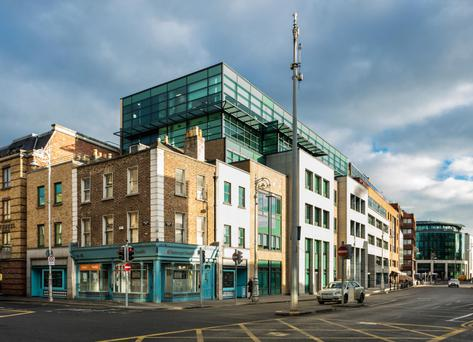 Blocks 4 and 5 at the Harcourt Centre will be priced in the region of €50m