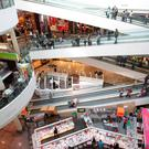 UK property group Hammerson said rent reviews produced higher yields of 8pc last year