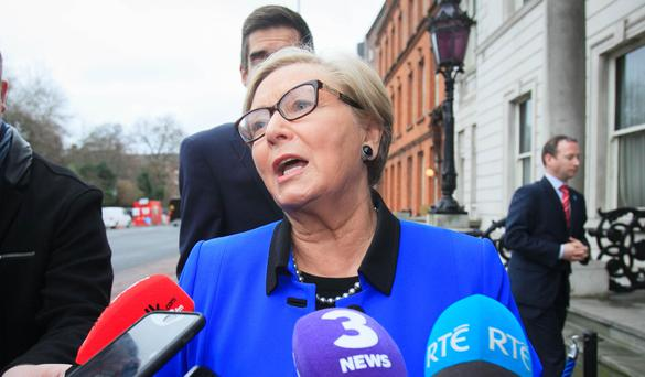 Tánaiste Frances Fitzgerald revealed applications had soared