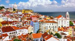 Lisbon, capital of Portugal – the country suffered a financial collapse similar to the one that shook Ireland