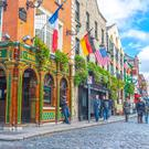 Temple Bar is a major draw for tourists to Dublin