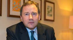 Aer Lingus ceo Stephen Kavanagh said it had been trading well and had successfully restructured Photo: Mark Condren